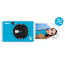 Canon IVY CLIQ Instant Camera & Portable Printer (Seaside Blue) Instant Camera Printer