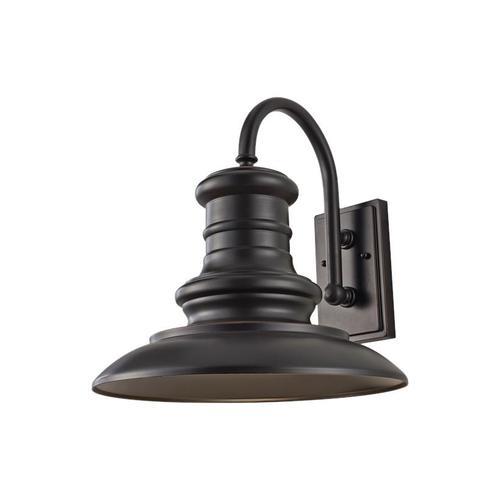 Feiss - Redding Station Large Lantern Wildlife Friendly Restoration Bronze Bulbs Inc