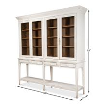 Beacon Hill Display Case, White