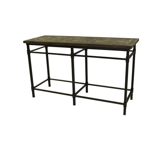 Sofa Table W/Metal Base