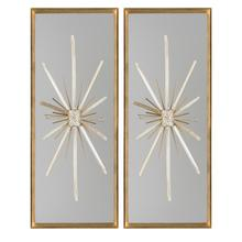 Set of Two North Star Wall Décor