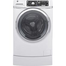 GE® 4.9 DOE cu. ft. Capacity RightHeight™ Front Load ENERGY STAR® Washer with Steam / Discontinued / New In Box / Linthicum, Md ID: CNTR502G