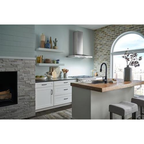 Product Image - WCP3 30-in. 650 Max CFM Stainless Steel Chimney Range Hood with LED Lights