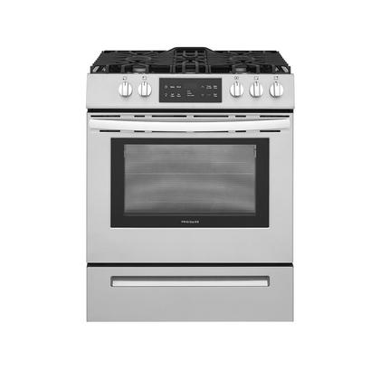 See Details - Frigidaire 30'' Front Control Freestanding Gas Range