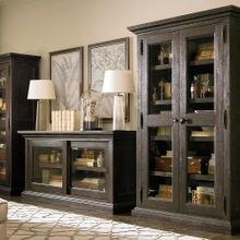 Product Image - Compass Western Brown Emporium Single Display Cabinet