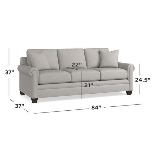 Carolina Panel Arm Sofa