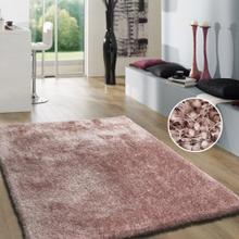 Shaggy Viscose Solid S.V.S. - Dusty Pink / 5' x 7'