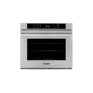 "Dacor27"" Single Wall Oven, Silver Stainless Steel with Flush Handle"