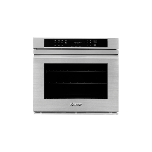 "27"" Single Wall Oven, Silver Stainless Steel with Flush Handle"