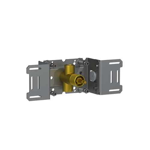 "Build-in stop valve, 1/2"""