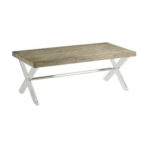 ACRYLIC COCKTAIL TABLE