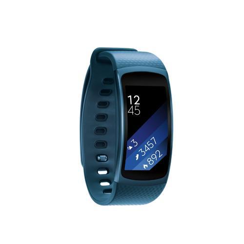 Samsung - Gear Fit2 (Large) Blue