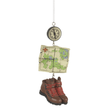 Hiking Dangle Ornament