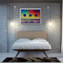 See Details - Tracy 2 Piece Queen Bedroom Set in Cappuccino Latte