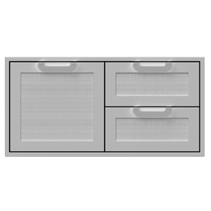 "42"" Hestan Outdoor Combo Door/Drawer - AGSDR Series - Froth"