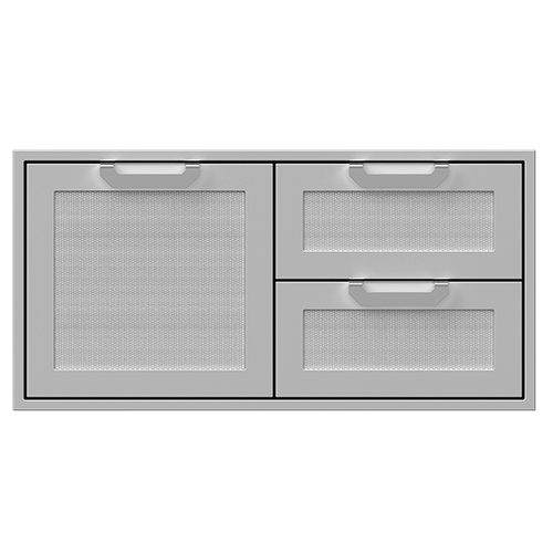 """Hestan - 42""""DBL.DRAWER and Storage Door Combi., Marquise"""