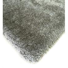 "Shaggy Viscose Solid S.V.S. - Silver / 7'6"" x 10'3"""