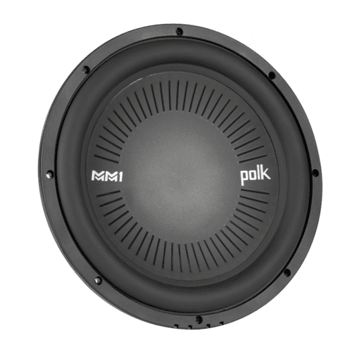 "MM1 Series 12"" Single Voice Coil Subwoofer with Ultra-Marine Certification in Black"