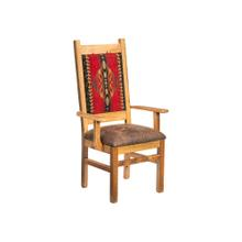 See Details - Catskill Arm Chair With Upholstered Back and Seat
