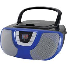 See Details - Portable CD Radio Boom Box (Blue)