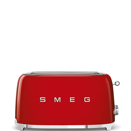 4x2 Slice Toaster, Red