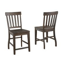 View Product - Cayla Counter Chair, Dark Oak