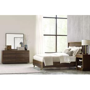 Luna Cal King Panel Bed Complete