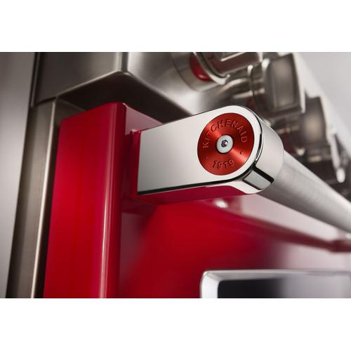 KitchenAid® Commercial-Style Range Handle Medallion Kit - Red