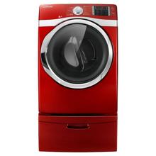 7.5 cu. ft. Capacity Electric Steam Dryer (Tango Red)