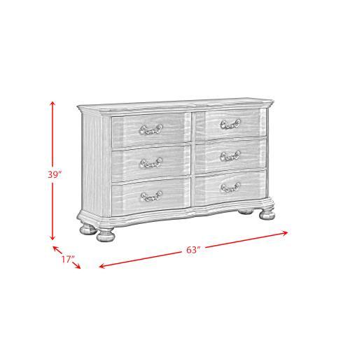 Elements - Avery 6-Drawer Dresser