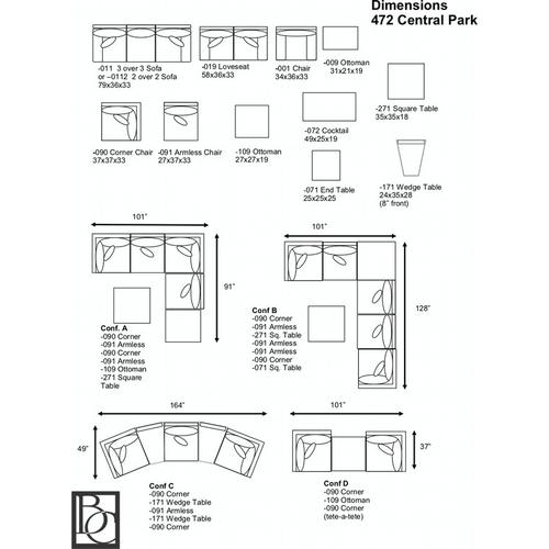 Central Park Modular Outdoor Sectional