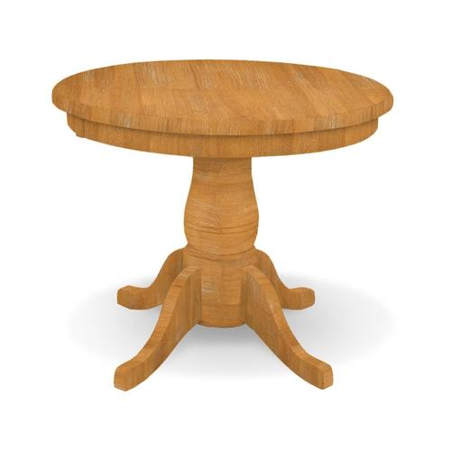 Round Table / 18'' Traditional Pedestal