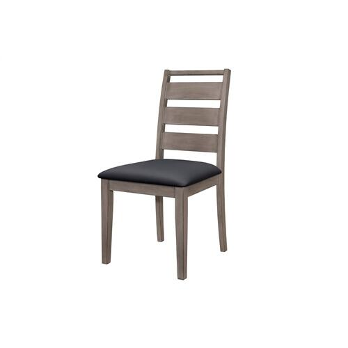 Side Chair, Black PU