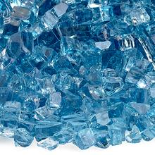 """See Details - 1/4"""" Pacific Blue, 10 Lb. Jar Fire Glass"""