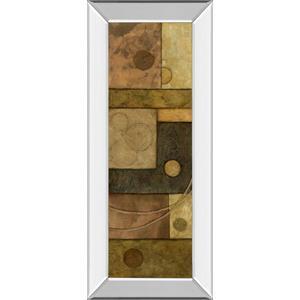 "Classy Art - ""Circle Game I"" By Norm Olson Mirror Framed Print Wall Art"