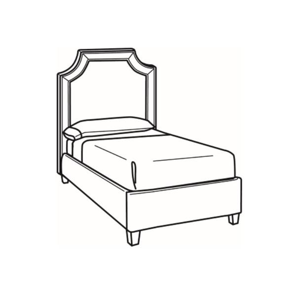 See Details - Twin Bed with Short Headboard