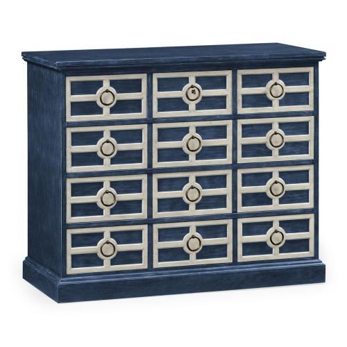 Midmoor Blue Chest of Drawers