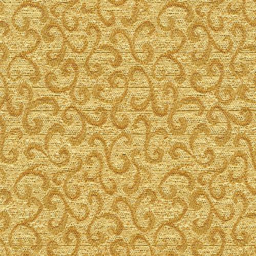 Flash Furniture - 18.5''W Church Chair in Lancaster Khaki Fabric - Gold Vein Frame