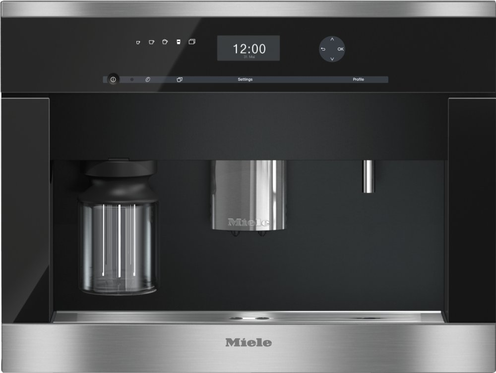 CVA 6405 - Built-in coffee machine with bean-to-cup system and OneTouch for Two for perfect coffee enjoyment.