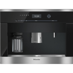 MieleCVA 6405 - Built-in coffee machine with bean-to-cup system and OneTouch for Two for perfect coffee enjoyment.