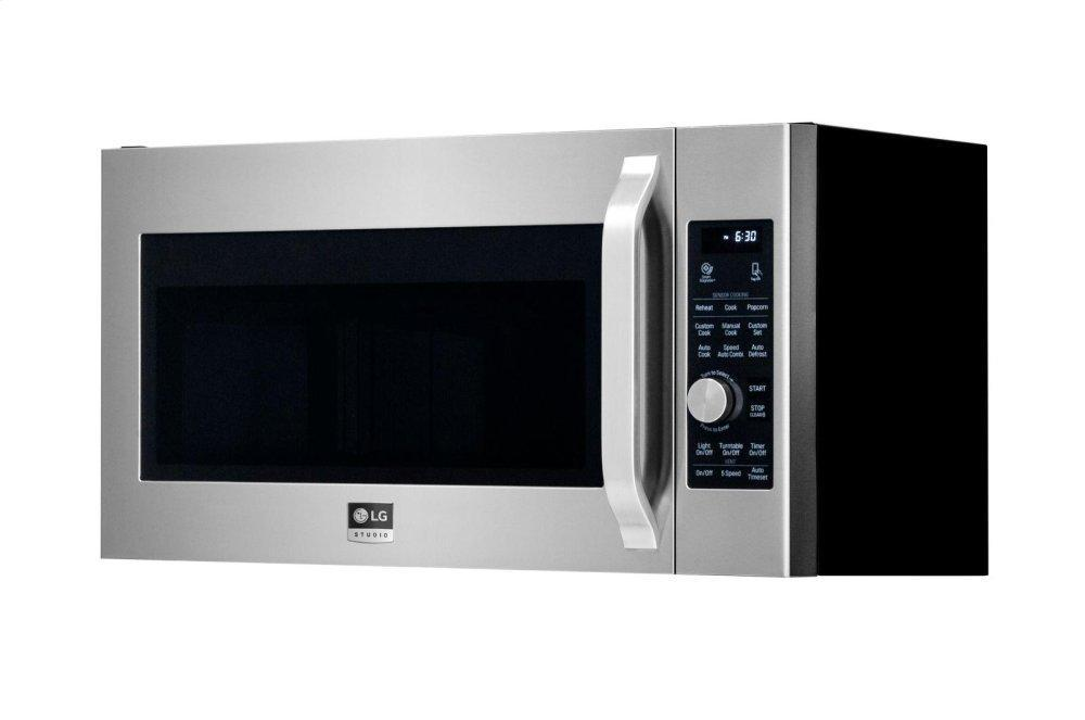 STUDIO 1.7 cu. ft. Over-the-Range Convection Microwave Oven Photo #3