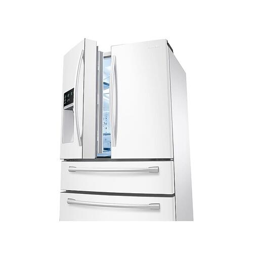 28 cu. ft. 4-Door French Door Refrigerator in White