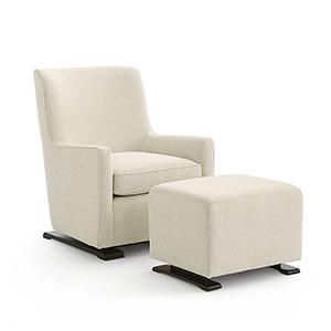 Best Home Furnishings - CORAL Swivel Glide Chair