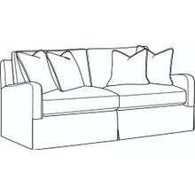 Halsey Slipcovered Short Sofa