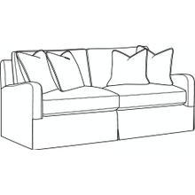 See Details - Halsey Slipcovered Short Sofa