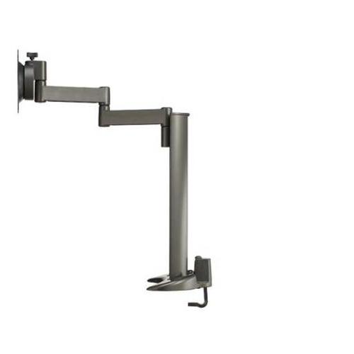 """Product Image - Graphite Full-Motion Desk Mount for flat-panel monitors up to 30"""" - extends 18.50"""" / 46.99 cm"""