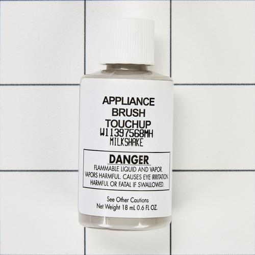 Appliance Touchup Paint Bottle, Milkshake