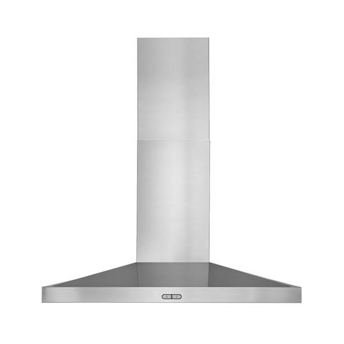 BEST Range Hoods - 30-inch, 650 Max Blower CFM Stainless Steel Chimney Range Hood with LED Lights (WCP3 Series)