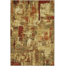 "Elements Treviso Gold 5' 3""x7' 10"""