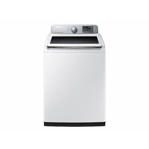 Samsung - 5.0 cu. ft. Top Load Washer in White